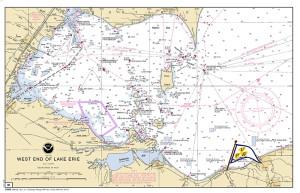 Western Basin NOAA Chart