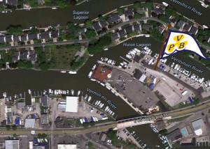Location on Huron Lagoon (Img Src: Google Maps)